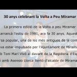 30 aniversari de la Volta a peu Miramar – Ajuntament de Miramar