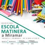 Escola matinera a Miramar – Ajuntament de Miramar